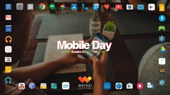 Worka! Mobile Day en la Semana del Coworking
